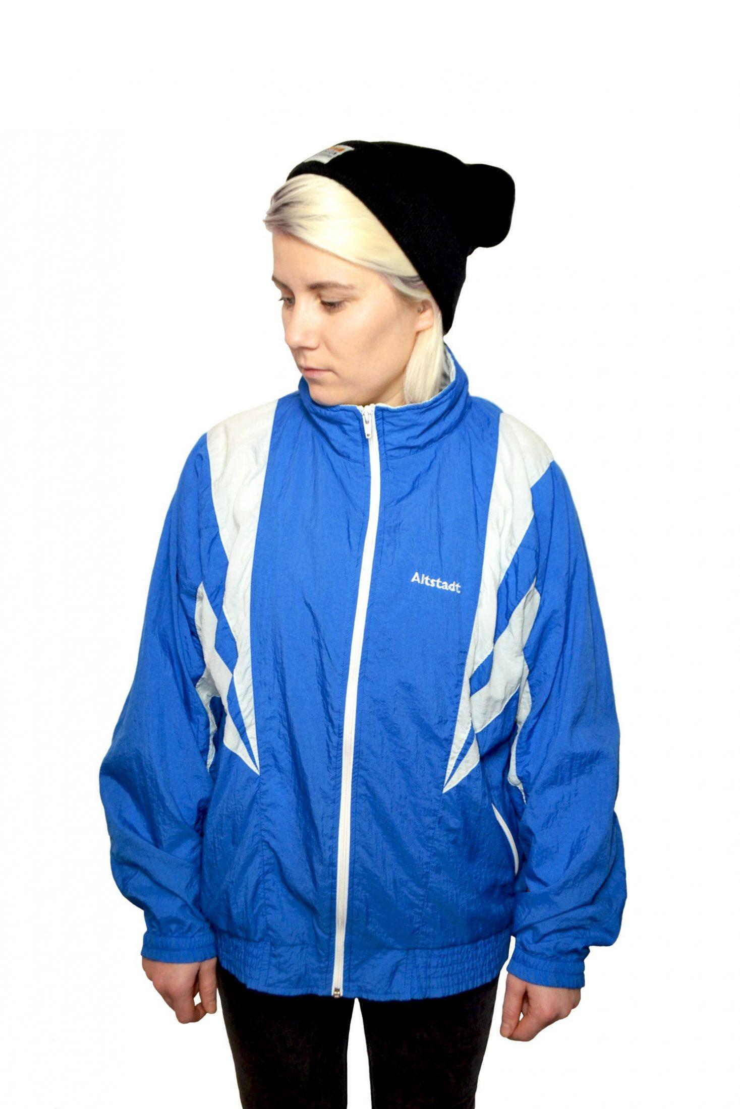 vintage sport jacket milk vintage clothing
