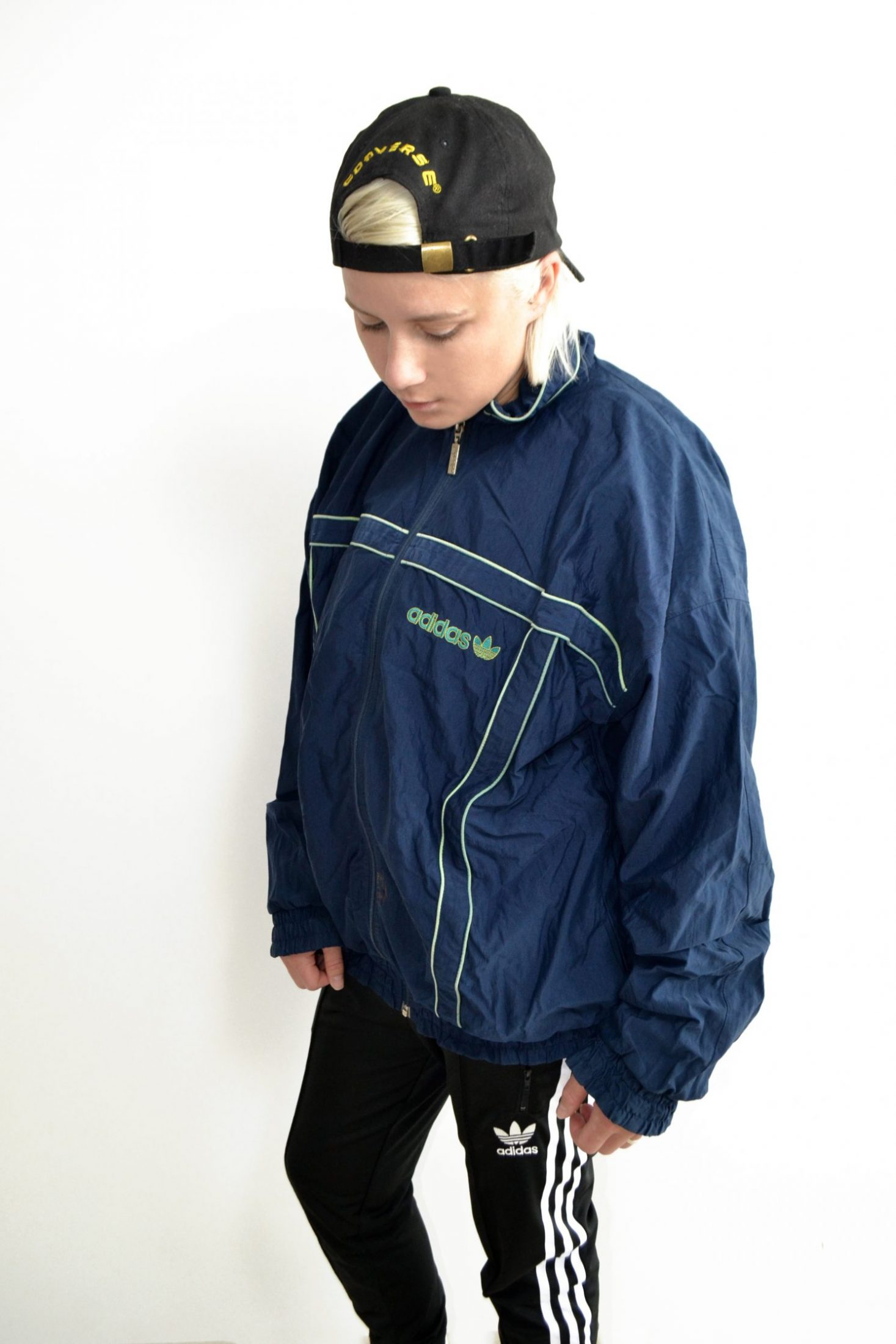 adidas originals jacket milk vintage clothing