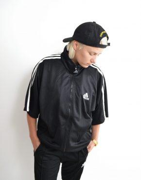 ADIDAS vintage tracksuit jacket short sleeves