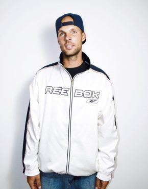 Reebok vintage white jacket