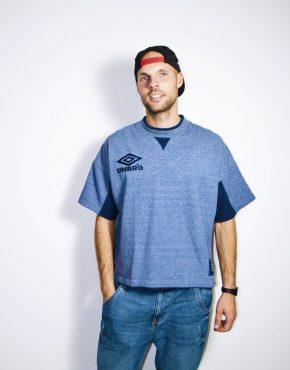 UMBRO vintage blue t-shirt