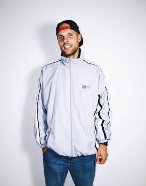 Vintage grey shell jacket