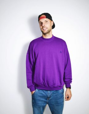 PUMA 90's purple sweatshirt