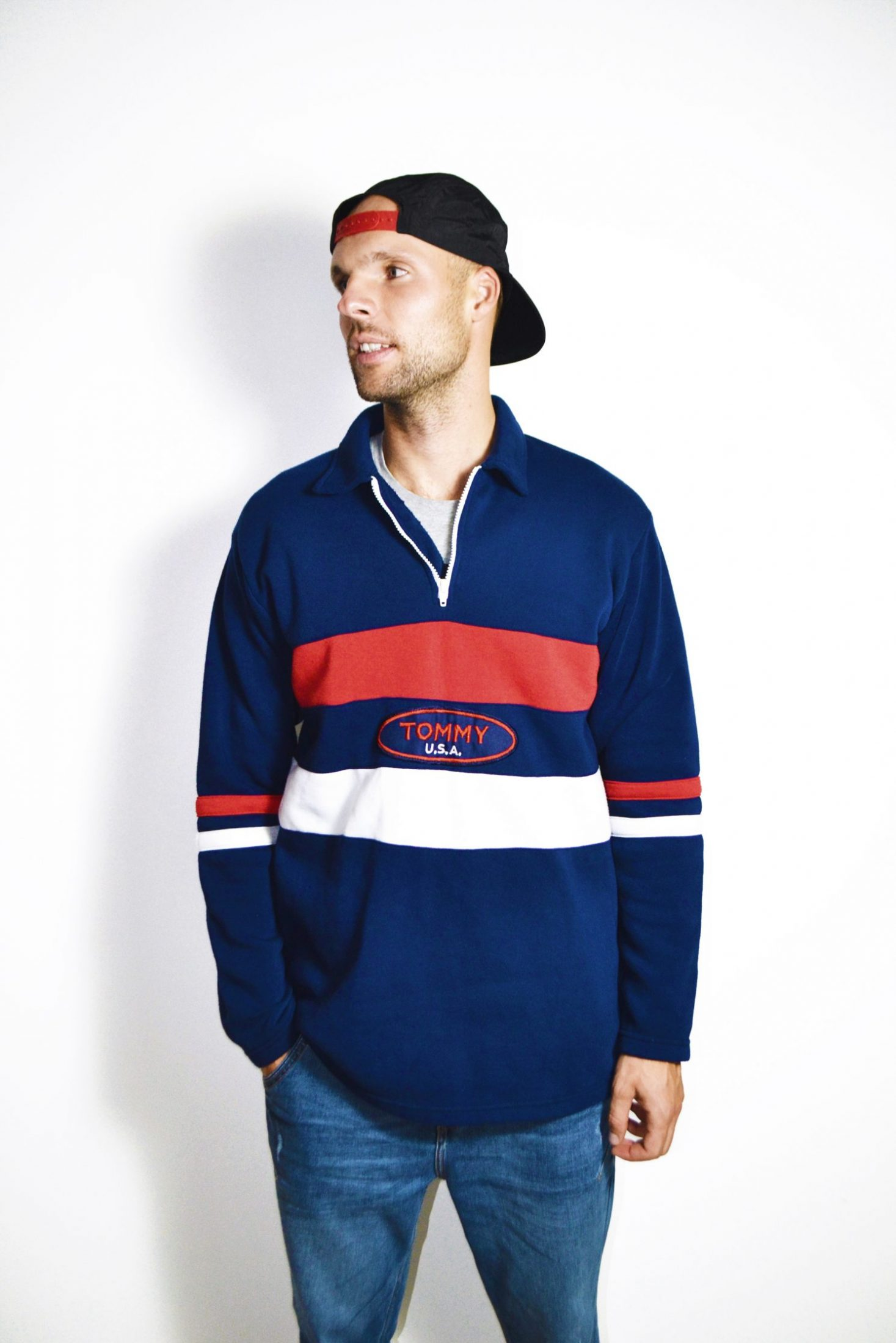 80093e37e39 TOMMY HILFIGER vintage rugby shirt | The best vintage clothing | Europe