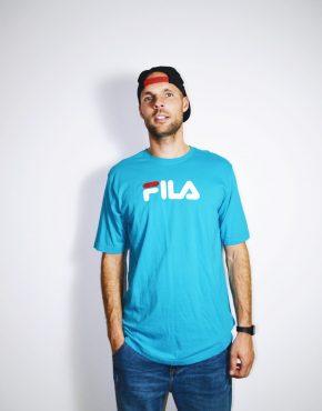 FILA vintage blue t-shirt