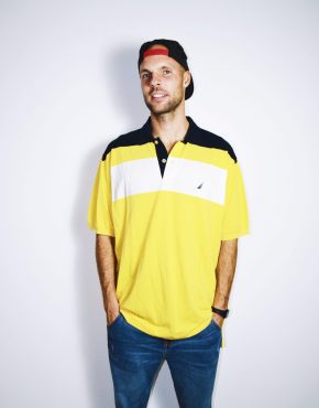 NAUTICA vintage polo shirt
