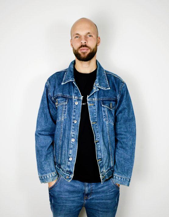 Vintage Mens Denim Jacket
