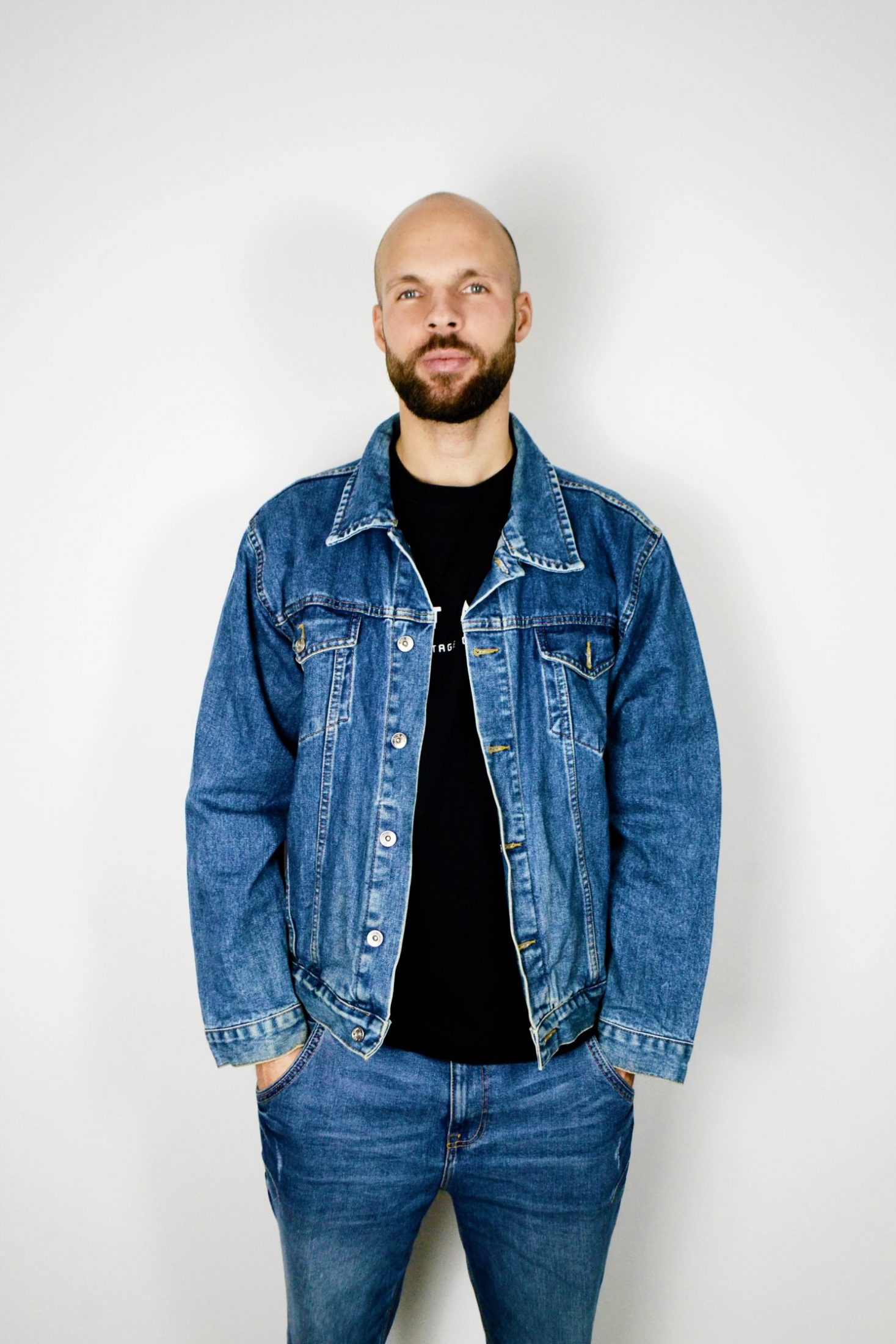 Vintage Mens Denim Jacket
