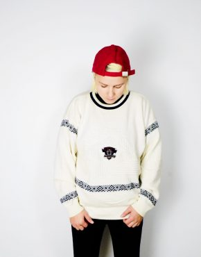 Vintage white sweater