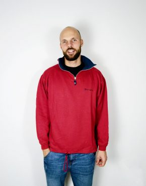 CHAMPION vintage red sweatshirt