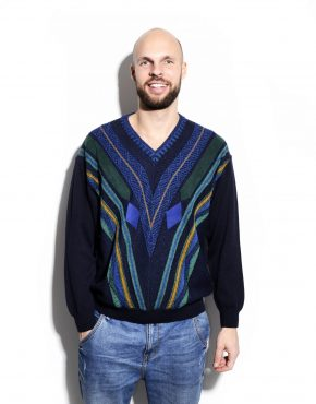 90s vintage mens sweater