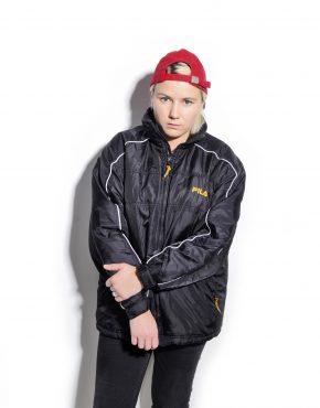 FILA vintage puffer jacket