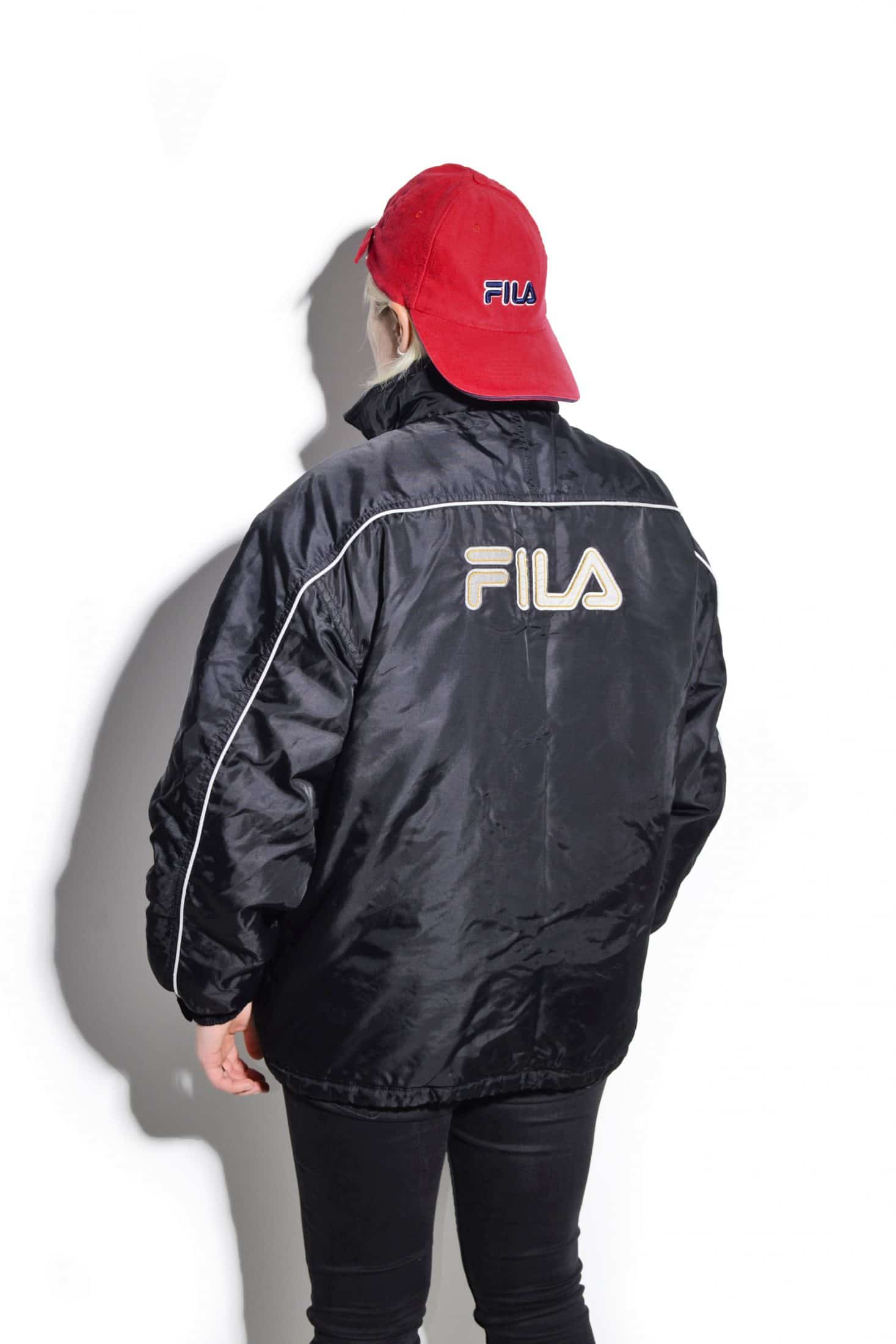 top quality exclusive shoes popular stores FILA vintage puffer jacket | Vintage very warm winter sport ...