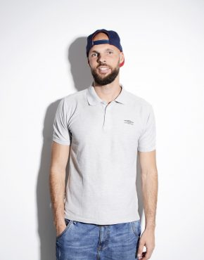 UMBRO grey polo shirt