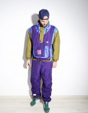 Vintage ski snowboarding suit