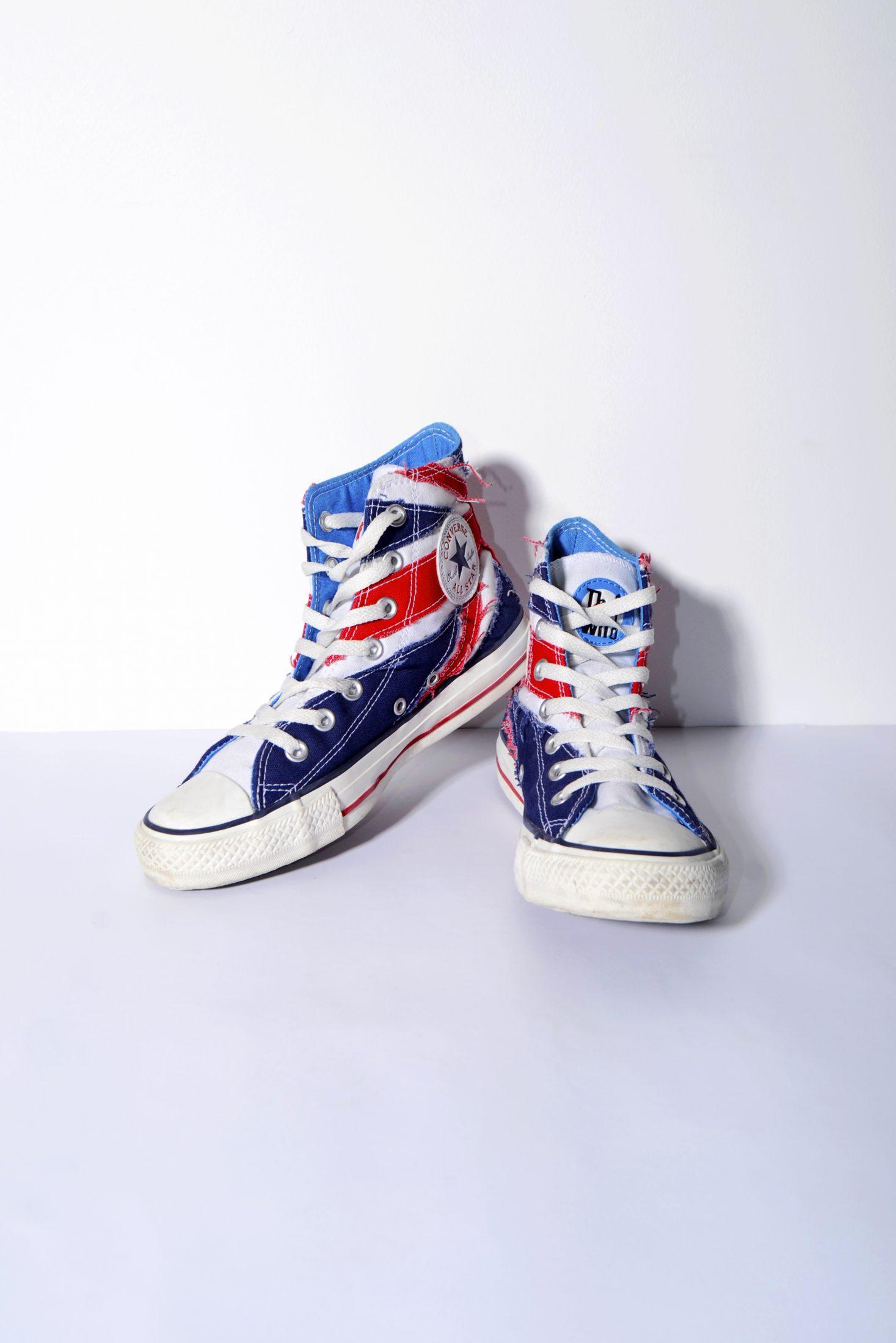 8bce49b29ad7f0 Converse uk flag women s sneaker Chuck Taylor All Star high top
