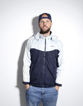 UMBRO hooded shell jacket