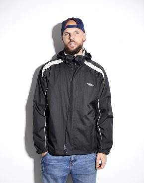 UMBRO hooded black jacket