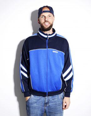 Old School blue track jacket