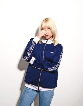 Umbro blue track jacket
