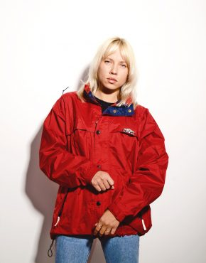 UMBRO red shell jacket
