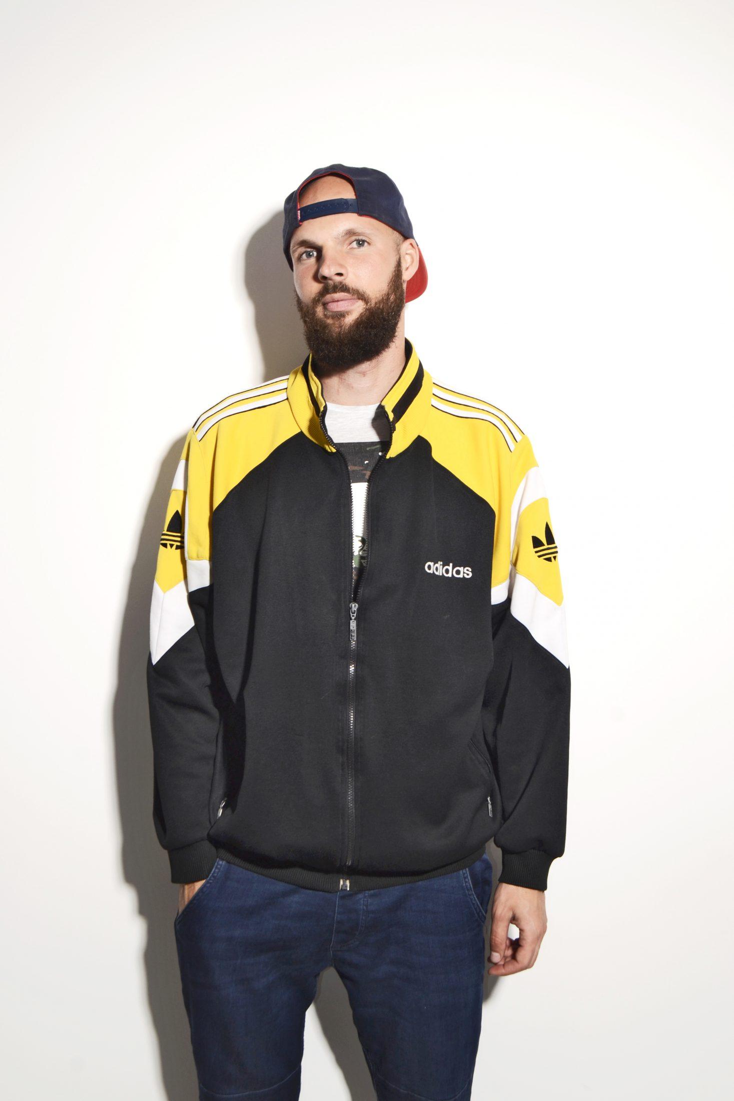 George Stevenson yeso mimar  ADIDAS ORIGINALS 90s jacket | HOT MILK vintage clothing online store