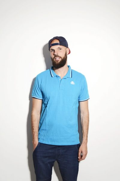 Kappa blue polo shirt