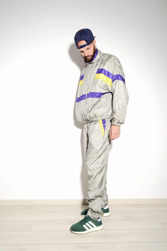 90s vintage festival shell suit