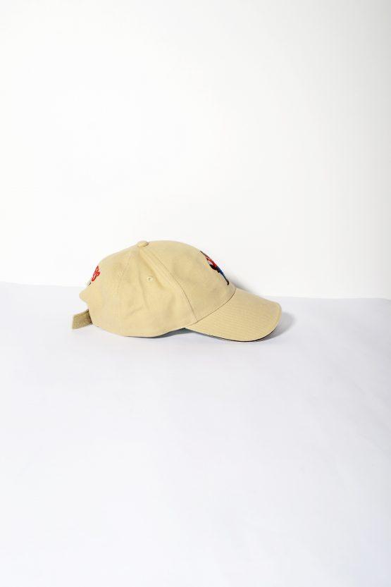 411acb53f3c ... Vintage brown small baseball cap ...