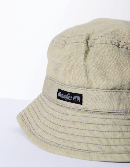 Wrangler Cotton Bucket Brown Hat