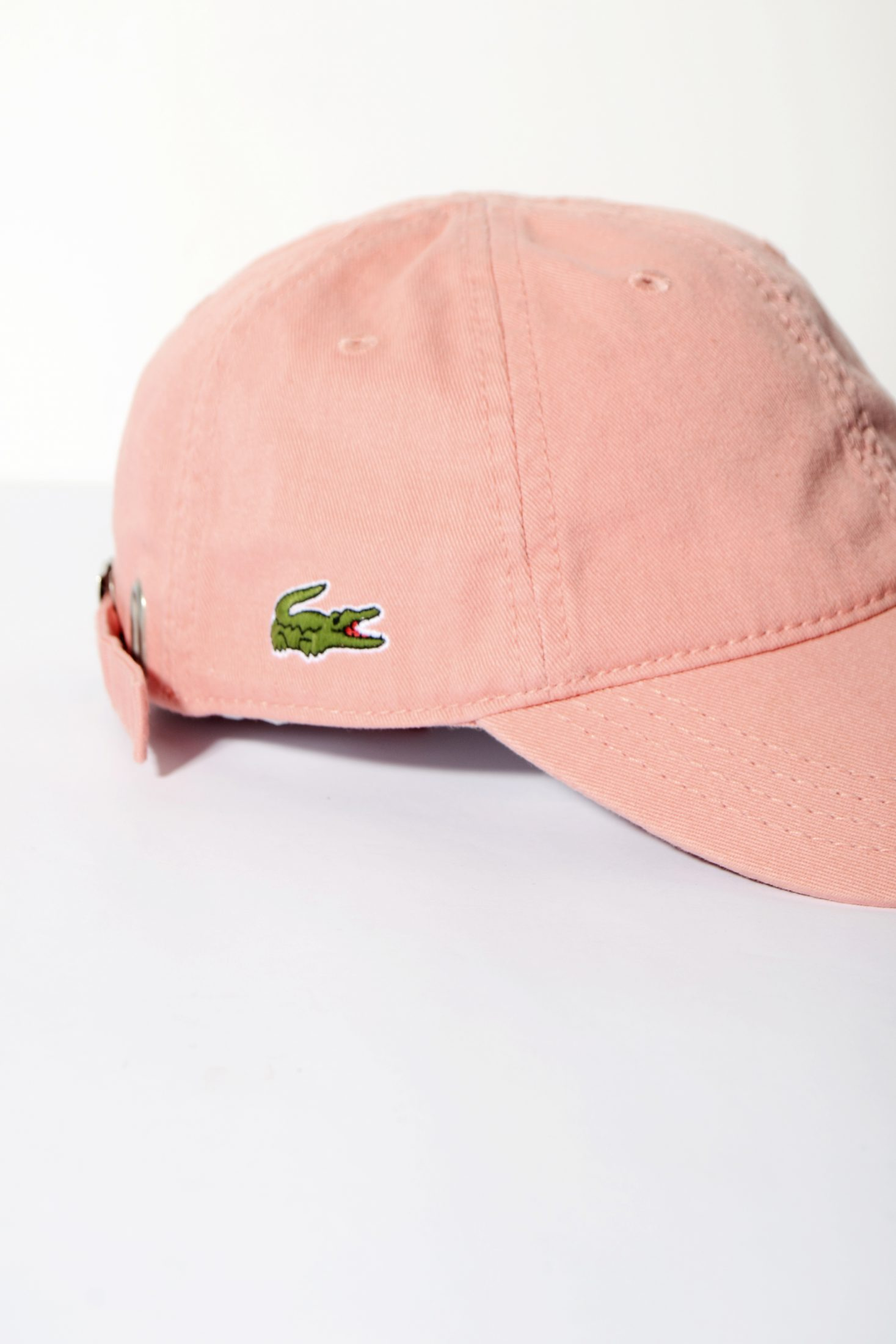 3bda69f46 LACOSTE vintage pink baseball cap
