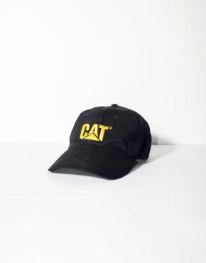 CAT baseball black cap