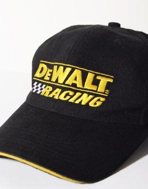 DEWALT racing black cap
