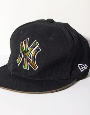 New York Yankees black camo full cap