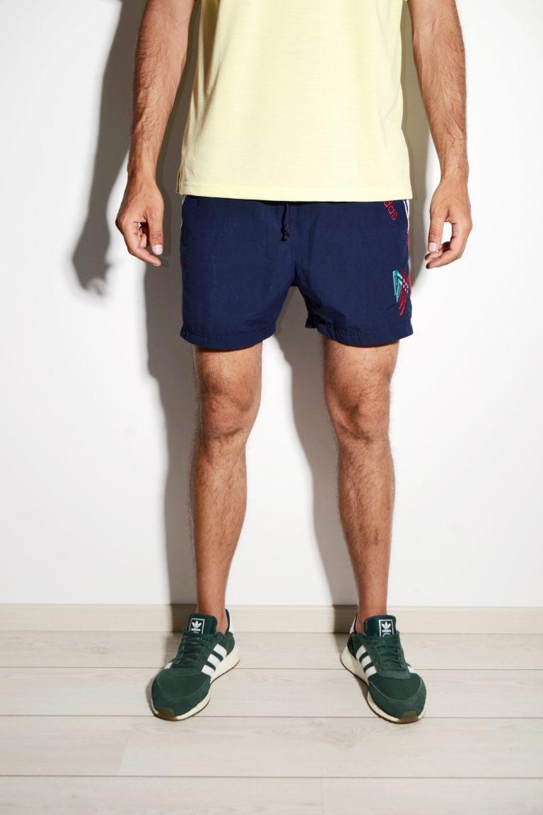 vintage adidas shorts mens