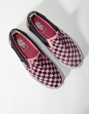 Vans shoes Box Checkered Print