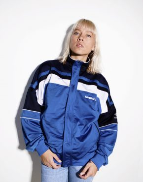 Umbro vintage track jacket blue