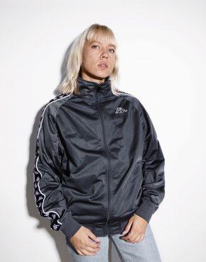 Kappa vintage track jacket grey
