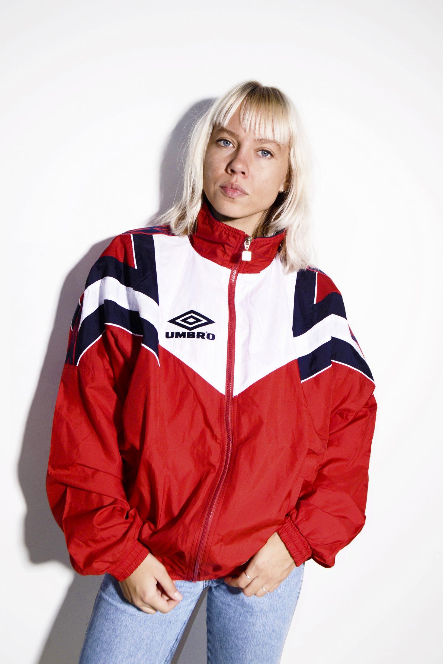 umbro red jacket
