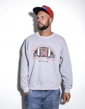 Champion grey sweatshirt
