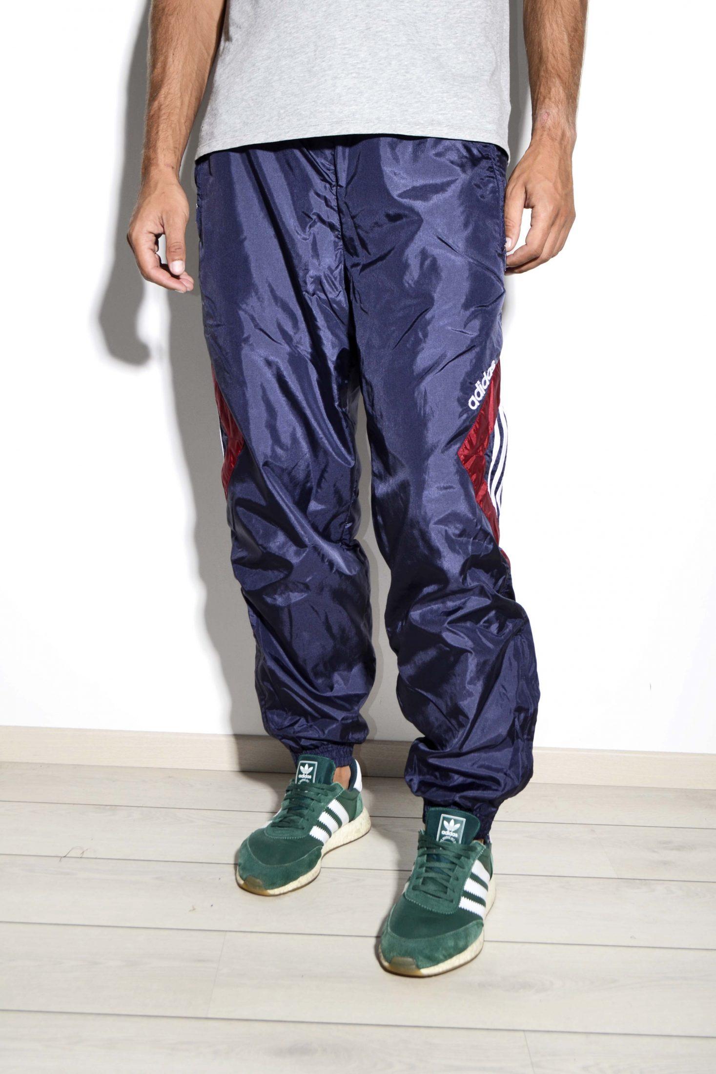 Vintage Adidas wind pants | Blue