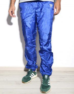 Vintage Adidas blue wind pants