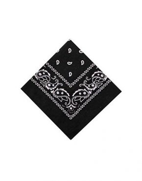 COTTON PAISLEY BANDANA HEADBAND SCARF