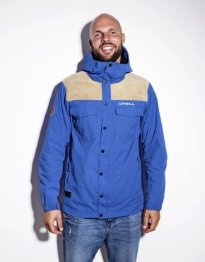 O'neill men's shell jacket blue