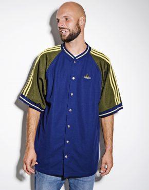 Adidas vintage blue jersey