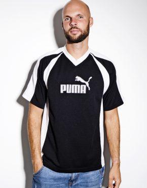 PUMA vintage t-shirt black