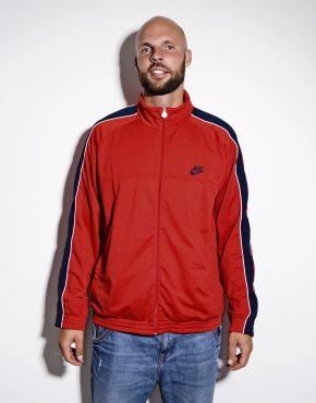 NIKE vintage red mens jacket