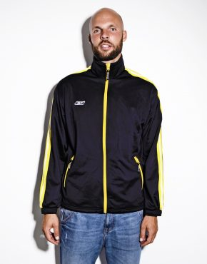 Reebok vintage black jacket
