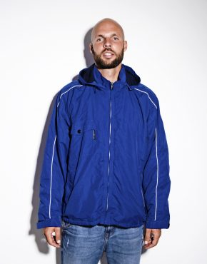 UMBRO vintage hooded jacket blue