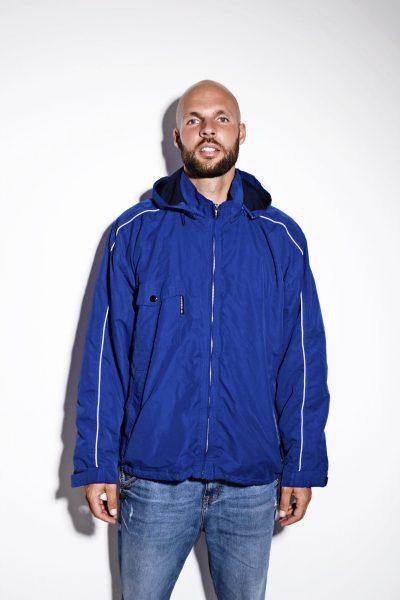 UMBRO vintage hooded jacket blue